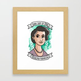 Rosalind Franklin Framed Art Print