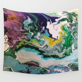 Cool Colors Wall Tapestry