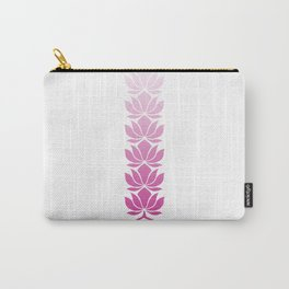 Lotus flower yoga pos Carry-All Pouch