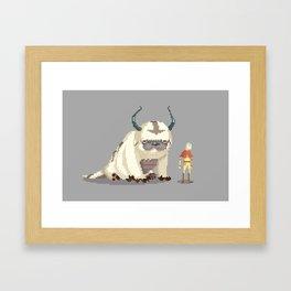 Pixel Avatar Framed Art Print