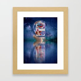 Siamese Fighting Fish by GEN Z Framed Art Print