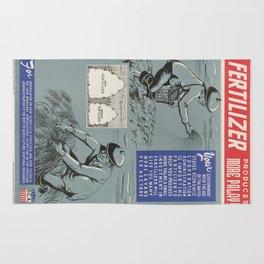 Vintage poster - Fertilizer Rug