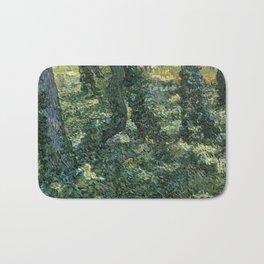 Undergrowth by Vincent van Gogh Bath Mat