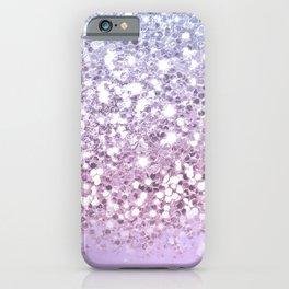 Faux Sparkly Pastel Unicorn Ombre iPhone Case