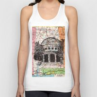 alabama Tank Tops featuring Alabama by Ursula Rodgers