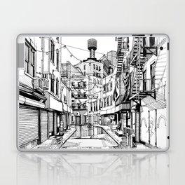 Concrete Jungle (BW) Laptop & iPad Skin