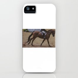Cantering Bay Horse iPhone Case