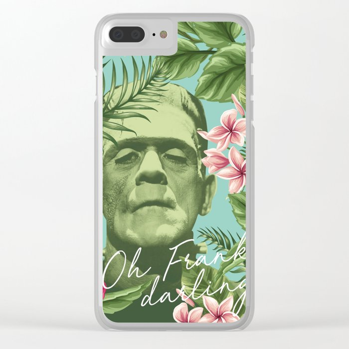 Oh Frankie darling - The Franktiki Clear iPhone Case