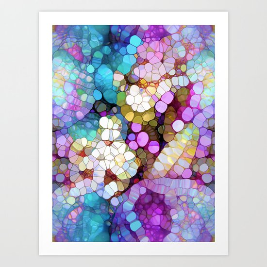 Happy Colors Art Print