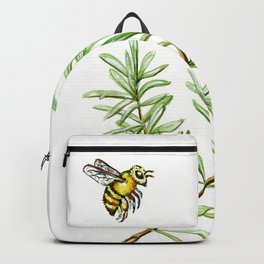 Rosemary and Honey Bee Backpack