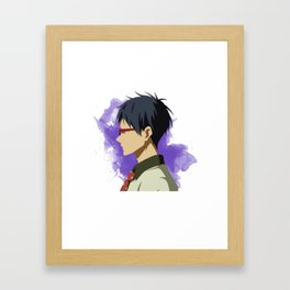 Free! Minimalist (Rei) Framed Art Print