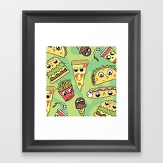 Snack Attack! Framed Art Print