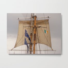 Tall ship Metal Print