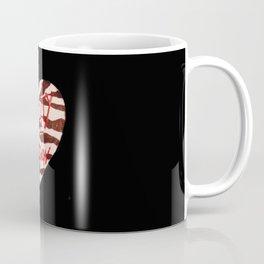 BeautyIsAReligion `ZEBRA HEART` Coffee Mug
