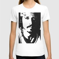 johnny depp T-shirts featuring Johnny Depp by Jeanique van den Berg