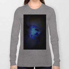 Orchidea in blue Long Sleeve T-shirt