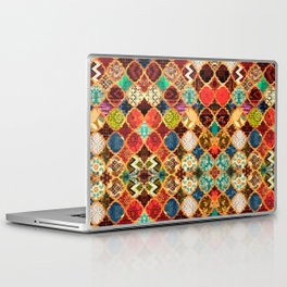 -A32- Epic Colored Traditional Moroccan Artwork. Laptop & iPad Skin