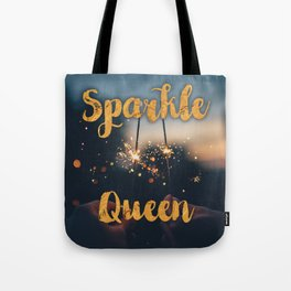 Sparkle Queen Tote Bag