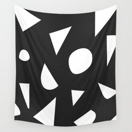 Boom on Black Wall Tapestry