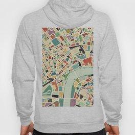 CITY OF LONDON MAP ART 01 Hoody