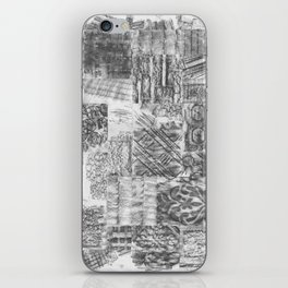 Gathering Pieces iPhone Skin
