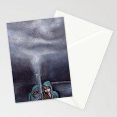 never go home (homesick) Stationery Cards