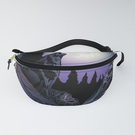 Howling Wolf (Signature Design) Fanny Pack