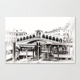 Ponte di Rialto (Rialto Bridge) Canvas Print