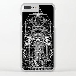 Eye of Horus Eye of Ra Clear iPhone Case