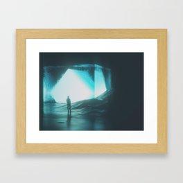 Tesseract Framed Art Print