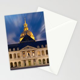 the Hotel of the invalids in Paris Stationery Cards