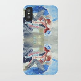 sea sketches 5 iPhone Case