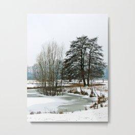 Wintertime in NRW Metal Print