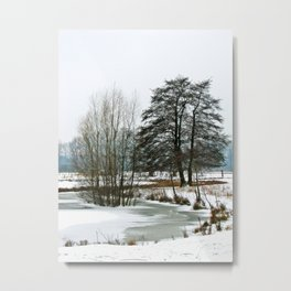 Wintertime in NRW Metal Print