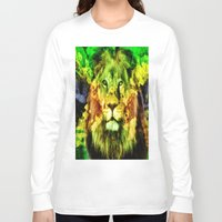 rasta Long Sleeve T-shirts featuring Rasta  by gypsykissphotography