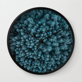 Overhead Forest Wall Clock