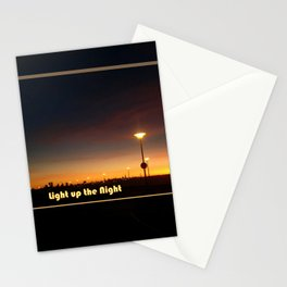 Light up the Night Stationery Cards