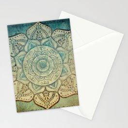 Faded Bohemian Mandala Stationery Cards