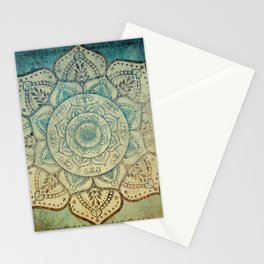 Faded Bohemian Mandala Stationery Cards
