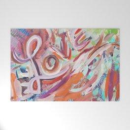 Love Grafitti Welcome Mat