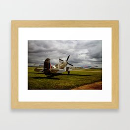 Spitfire Framed Art Print
