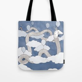 Air Dragon Tote Bag