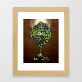 Earth Baby Framed Art Print