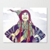 anna Canvas Prints featuring AnnA by Andon Georgiev