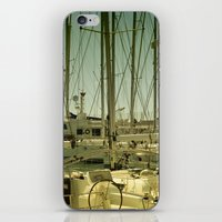 marina iPhone & iPod Skins featuring marina by gzm_guvenc