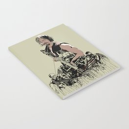 Daryl Dixon Notebook