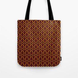 Shining Hotel Carpet Pattern Tote Bag