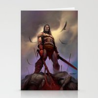 conan Stationery Cards featuring Conan the Barbarian by Eric Lofgren
