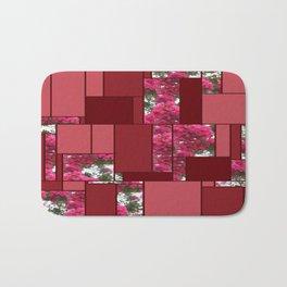 Crape Myrtle Art Rectangles 8 Bath Mat