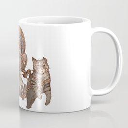 Freya Driving Her Cat Chariot Coffee Mug